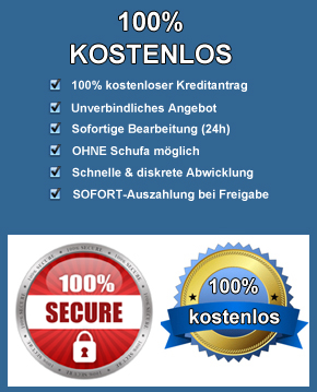 kreditantrag-100% kostenlos